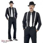 FANCY DRESS ACCESSORY # MENS 1920's GANGSTER INSTANT DRESS UP KIT